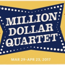 James Barry, Scott Moreau, Jake Rowley and Nat Zegree Headline MILLION DOLLAR QUARTET at Paper Mill Playhouse
