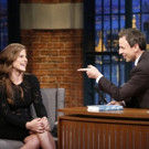 VIDEO: Author Lauren Groff Talks New Book 'Fates and Furies' on LATE NIGHT