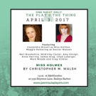 Peninsula Players Announces Public Reading of MISS HOLMES