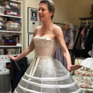 Photo Flash: Marin Mazzie Gets Fitted in Her KING AND I Hoop Skirt!