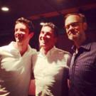 Photo Flash: Michael Urie and David Hyde Pierce Visit 'ABSOLUTE BRIGHTNESS' Off-Broadway