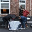 Photo Flash: La MaMa Gets Solar Panel for Eco-Theater Production 'JUPITER'