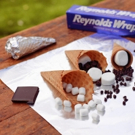 Marina's Menu: National Smore's Day and Campfire Treats with REYNOLDS
