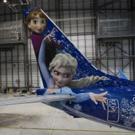 VIDEO: Soar with Anna & Elsa on WestJet's New Custom FROZEN Plane!