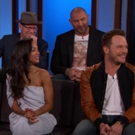 VIDEO: GUARDIANS OF THE GALAXY VOL 2 Cast Visits 'Kimmel'; Shares Clip!