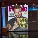 Global Superstar David Beckham Named People's 'Sexiest Man Alive'