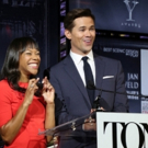 Photo Coverage: Andrew Rannells and Nikki M. James Announce the 2016 Tony Nominations!