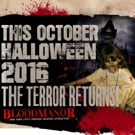 BLOOD MANOR Haunted House Continues Tradition of Terror in NYC This Fall