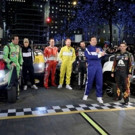 VIDEO: Jesse Tyler Ferguson, Justin Bieber & More Compete in TONIGHT SHOW's NASCAR Race in Rockefeller Plaza