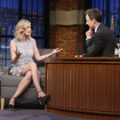 VIDEO: Beth Behrs Talks New Play 'A FUNNY THING HAPPENED' on 'Late Night'