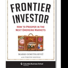 Marko Dimitrijevic Launches FRONTIER INVESTOR