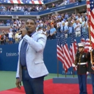 STAGE TUBE: Norm Lewis Sings National Anthem at US Open!