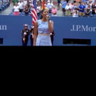STAGE TUBE: Renée Elise Goldsberry Performs America the Beautiful at U.S Open