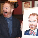 Photo Coverage: FULLY COMMITTED's Jesse Tyler Ferguson Gets Honored with a Sardi's Portrait!