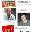 HAMILTON's Thayne Jasperson and More Set for BROADWAY SESSIONS This Week