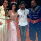 Photo Flash: Backstreet Boy A.J. McLean Visits Broadway's ALADDIN