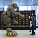 Photo Flash: CIRCUS 1903's Baby Elephant Puppet Stops by Madison Square Garden
