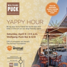 Wolfgang Puck Bar & Grill Partners with The Animal Foundation to Host 'Yappy' Hour