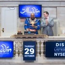 Photo Flash: ALADDIN's James Monroe Iglehart Rings New York Stock Exchange Opening Bell