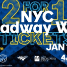 Broadway Week Has 2-for-1 Tickets to Over 25 Broadway Shows; On Sale Now