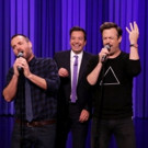 VIDEO: Will Forte & Jason Sudeikis Perform 'Can't Fight This Feeling' on TONIGHT SHOW