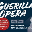 Guerilla Opera Announces 10th Anniversary Concert in OBERON, 5/31