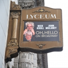 Up on the Marquee: OH, HELLO ON BROADWAY