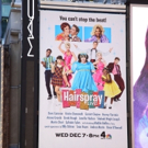 FREEZE FRAME: Billboard for HAIRSPRAY LIVE! Shines in Times Square