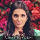 St. Hugh-Steinway Concert Series Features Violinist Aisha Syed, 11/20