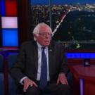 VIDEO: Bernie Sanders Tells Stephen Colbert He's Not Dropping Out Yet!