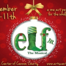 ELF THE MUSICAL JR. Opens 12/9 at Arts Center of Cannon County