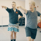 DANCE CAPTAIN DANCE ATTACK: Ben Tries on His Heels with KINKY BOOTS' Nathan Peck!