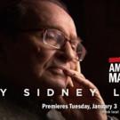 THIRTEEN's American Masters to Premiere 'By Sidney Lumet', 1/3