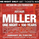 Arthur Miller: A One-Night-Only Performance to Support Theater & Film Education