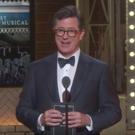 VIDEO: Stephen Colbert Takes Shots at Donald Trump at TONY AWARDS