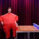 VIDEO: Chris Pine Competes in 'Inflatable Flip Cup' on TONIGHT SHOW
