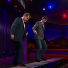 VIDEO: Sean Hayes & James Corden Perform Bieber's 'Sorry' on a Giant Piano!