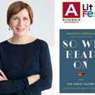 Alvernia University to Host NPR Book Critic Maureen Corrigan, 2/24