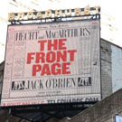 Up on the Marquee: THE FRONT PAGE