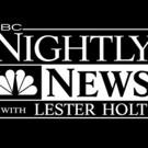 NBC NIGHTLY NEWS Hits 7-Week High in Key Demo