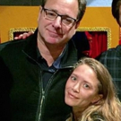 Photo Flash: FULL HOUSE Reunion! Mary-Kate Olsen Visits Bob Saget at HAND TO GOD