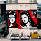 Entertainment Legends David Bowie & Carrie Fisher Memorialized in West Hollywood Murals