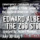 THE ZOO STORY to Run 7/30-8/1 at convergence-continuum