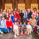 Photo Flash: Billy Porter and Stark Sands Visit KINKY BOOTS London Cast