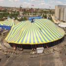Cirque du Soleil Big Top raised at United Center