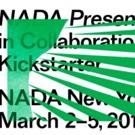 NADA New York Announces Partnership With Kickstarter, 3/2-5