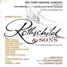 Robert Cuccioli & More Set for York Theatre Company's ROTHSCHILD & SONS Cast Album Release Party