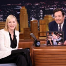 VIDEO: THE PRESENT's Cate Blanchett Shows Off Her Broadway Belching Skills on 'Tonight'