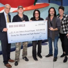 Goo Goo Dolls Donate Proceeds form Sales of Signed INstruments to St. Jude Hospital