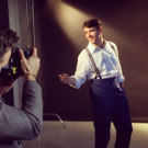 Photo Flash: Corey Cott & Laura Osnes Get Photo-Ready for THE BANDSTAND!